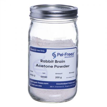 200g Glass jar of Rabbit Brain Acetone Powder