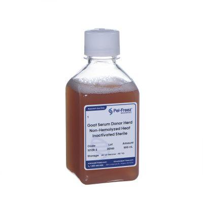 Poly bottle of goat serum